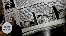 Frank Kafka strip from the first Criminal TPB (click for larger view)